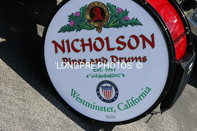 NICHOLSON PIPES AND DRUM BAND