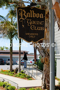 Front of BALBOA YACHT CLUB.