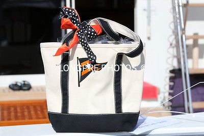 GIFT bags of goodies given to each boat entered in 2014 OPENING DAY.