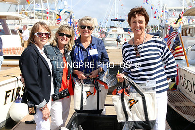 Ladies who deliver the BOAT GIFT BAGS.