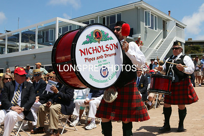 NICHOLSON PIPE and DRUM Band.