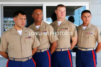 US MARINE Color guard gentlemen.