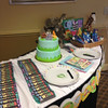 Cake and Favor Table