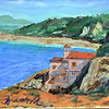 Twenty Forth, Malaga Cove (PL) first time people wanted to buy a painting (passed on a lobster)