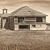 Carlyle Montana abadoned school house.