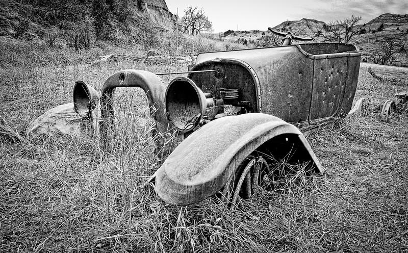 Bullet Riddled Demise in the Badlands
