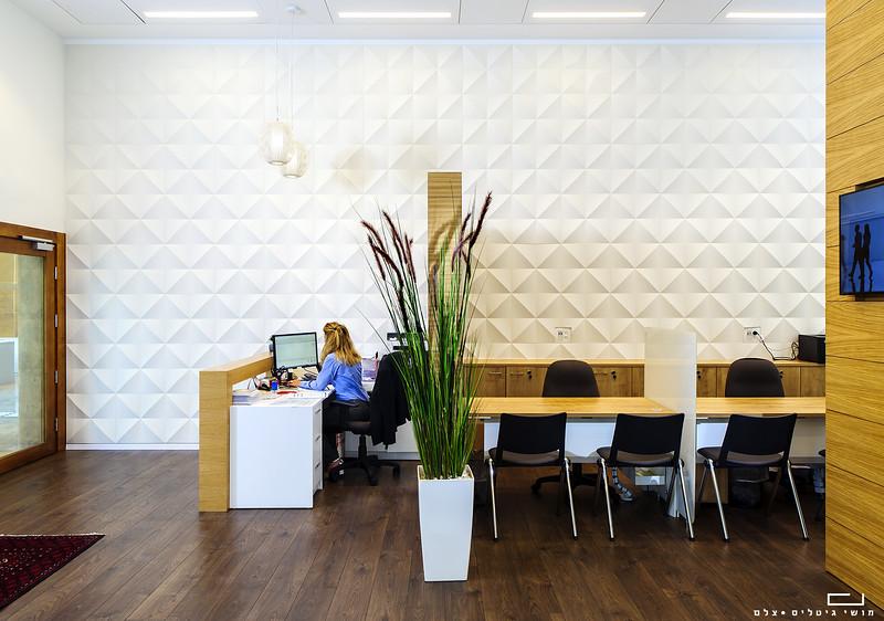 צילום מוצר אדריכלי: חיפוי קיר של חברת ברקאי<br /> צולם במרכז העסקים של בסט אינווסט בחולון