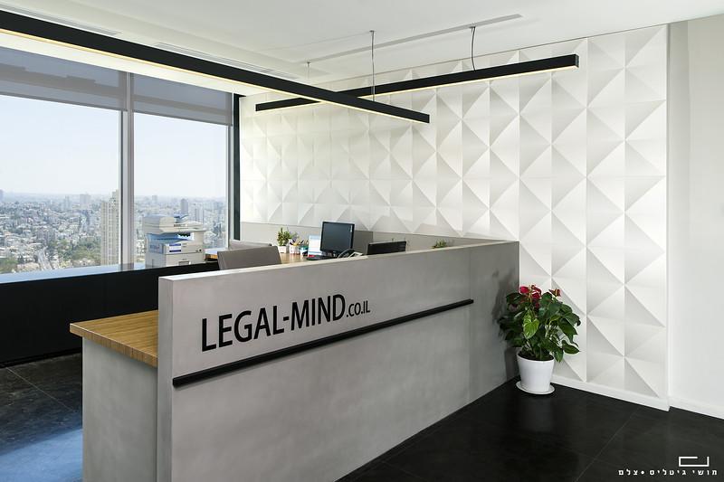 """צילום מוצר אדריכלי: חיפוי קיר של חברת ברקאי<br /> צולם במשרד עו""""ד ליגל מיינד"""