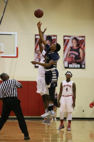 Brandon vs Pearl Boy's Basketball 1.6.15