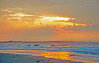 Sunrise on Kiawah Island beach in SC