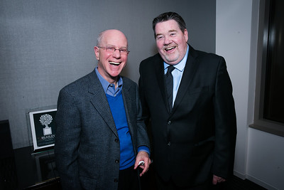 Seymoor Hepner, John Payet. Photo by Alfredo Flores. Beasley Real Estate 2nd Anniversary Celebration. Beasley Real Estate Washington, DC office. January 30, 2014.