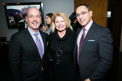 Nelson Marban, Jan Evans, Dan Bohnett. Photo by Alfredo Flores. Beasley Real Estate 2nd Anniversary Celebration. Beasley Real Estate Washington, DC office. January 30, 2014-2.CR2