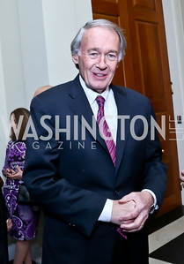Sen. Ed Markey. Photo by Tony Powell. Beatles Tribute Party. British Ambassador's residence. February 8, 2014