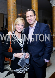 Jennifer and Jake Tapper. Photo by Tony Powell. Beatles Tribute Party. British Ambassador's residence. February 8, 2014