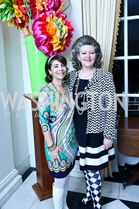 Lady Westmacott, Amanda Downs. Photo by Tony Powell. Beatles Tribute Party. British Ambassador's residence. February 8, 2014