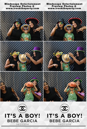 Bebe Garcia Baby Shower - Photo Booth Pictures