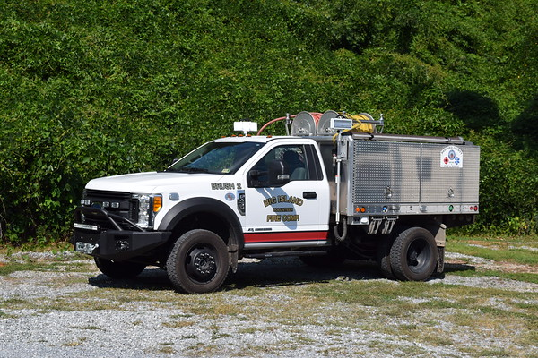 Brush 2 is a 2016 Ford F-450/Seagrave, 250/250.