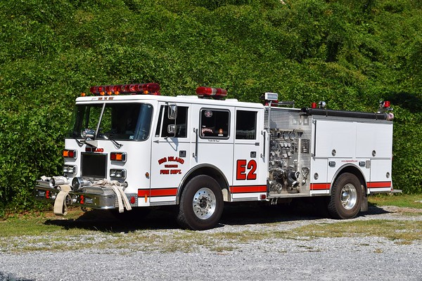 Engine 2 is a nice 1994 Pierce Arrow, 1250/500, sn- E8808-1.  ex - Kentland, Maryland.