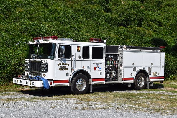 Wagon 2 is a beautiful 2015 Seagrave TB50CS, 1500/750/15, serial number 78H35.