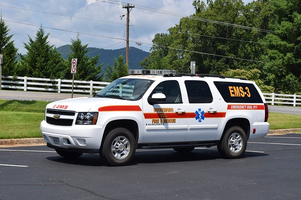EMS 3 is a 2009 Chevy Suburban.