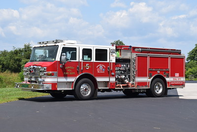 Engine 5 is a 2010 Pierce Impel, 1500/750/25, sn- 22618.