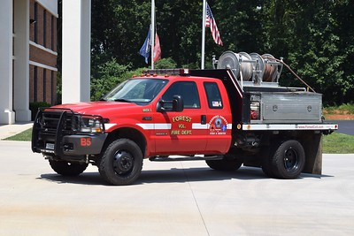 Brush 5 is a 2002 Ford F-350/M&W, 250/250/10.