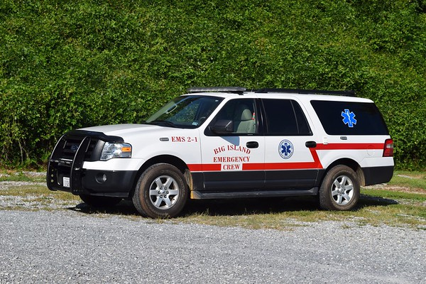 EMS 2-1 is a 2013 Ford Expedition.
