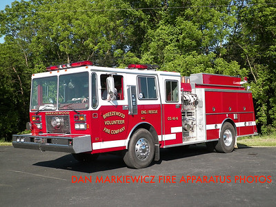 BREEZEWOOD FIRE CO. RESCUE 40-16 1990 KME PUMPER/RESCUE