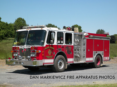 ALUM BANK COMMUNITY FIRE CO. ENGINE 38-14 1994 SPARTAN/SAULSBURY PUMPER
