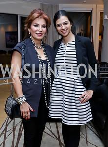 Tabandeh Sizdahkhani, Sara Haghdoosti. Photo by Tony Powell. Berim Fellows Program. Hendi Residence. November 21, 2014