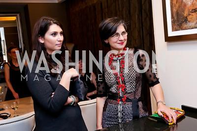 Yasmin Teymourian, Mehrnaz Teymourian. Photo by Tony Powell. Berim Fellows Program. Hendi Residence. November 21, 2014