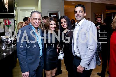 Hamid and Kathy Kazemi, Karishma and Jay Gulati. Photo by Tony Powell. Berim Fellows Program. Hendi Residence. November 21, 2014