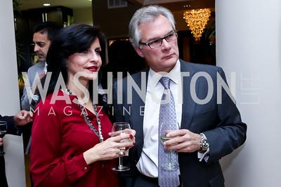 Mona Toosi, Steve Lynch. Photo by Tony Powell. Berim Fellows Program. Hendi Residence. November 21, 2014