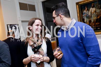 Paige Kirby, Farshad Nasiri. Photo by Tony Powell. Berim Fellows Program. Hendi Residence. November 21, 2014