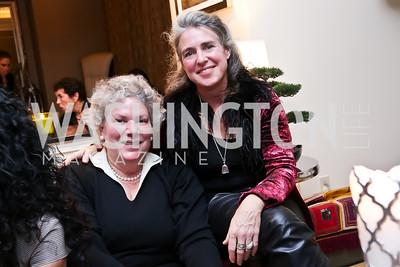 Manana Freyre, Gillian Caldwell. Photo by Tony Powell. Berim Fellows Program. Hendi Residence. November 21, 2014