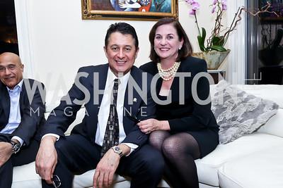 Mike and Eileen Massumi. Photo by Tony Powell. Berim Fellows Program. Hendi Residence. November 21, 2014