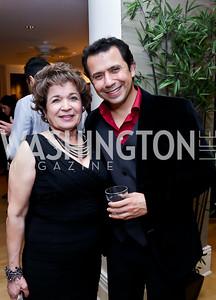 Afsar Elahi, Ali Hendi. Photo by Tony Powell. Berim Fellows Program. Hendi Residence. November 21, 2014