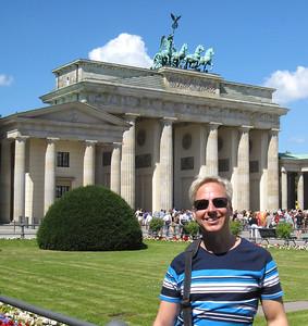 Me at the Brandenburg Gate