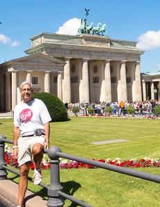 Richard at Brandenburg Gate.