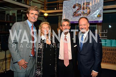 Anthony Shriver, Jan Brandt, Ted Leonsis, Jack DeGioia