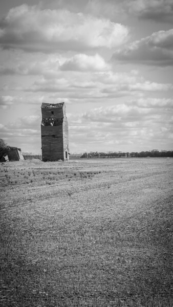 "Abandoned grain elevator in southern Trail County<br /> <br /> You can own this image. To browse the products available, just click the ""buy"" button to see the wall decor and keepsakes."