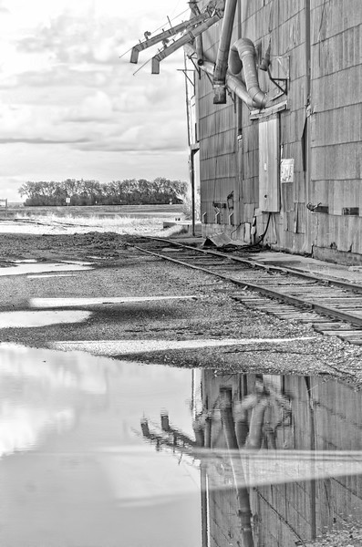 """After a rainstorm at Portland Junction<br /> <br /> You can own this image. To browse the products available, just click the """"buy"""" button to see the wall decor and keepsakes."""