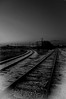Black & White Photo Gallery by Chris Sopher Peoria, IL - pioneer parkway railroad tracks on rock island trail