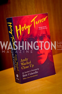 "Photo by Tony Powell. Bob Colacello ""Holy Terror"" book party. Central. April 2, 2014"