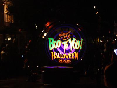 Boo To You Parade - Disney