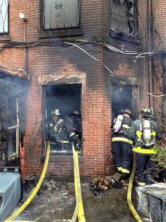 Boston 9-alarm fire