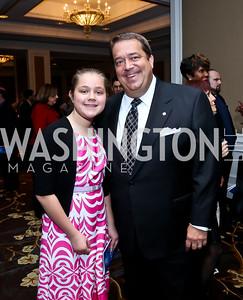 Julianna Swygert, George Seygert. Photo by Tony Powell. ICON 14 Dinner and Talent Showcase. Ritz Carlton. November 17, 2014