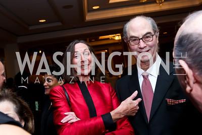 Ellen and Barney Goodman. Photo by Tony Powell. ICON 14 Dinner and Talent Showcase. Ritz Carlton. November 17, 2014