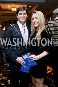 Sean Horridge, Sarah Townsley. Photo by Tony Powell. ICON 14 Dinner and Talent Showcase. Ritz Carlton. November 17, 2014
