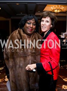 Vanessa Weaver, Patty Andringa. Photo by Tony Powell. ICON 14 Dinner and Talent Showcase. Ritz Carlton. November 17, 2014
